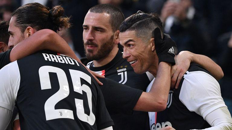 Juventus 4 0 Cagliari Match Report Highlights