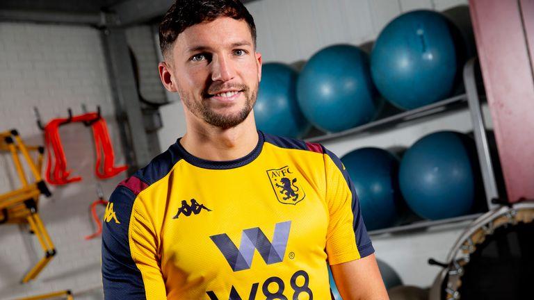 Aston Villa unveil new loan signing Danny Drinkwater at Bodymoor Heath