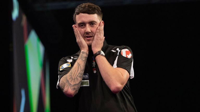 Parletti lost all three matches at the Grand Slam of Darts, but is hoping to use the experience as a springboard to bigger things