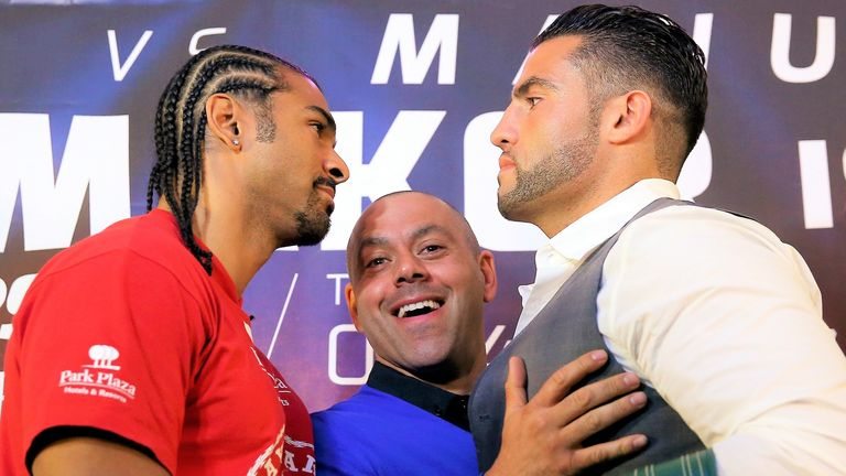 David Haye's planned fight with Charr fell through