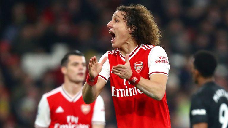 David Luiz shone against Manchester United