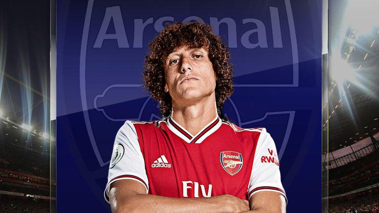 David Luiz has been ever-present for Arsenal under Mikel Arteta