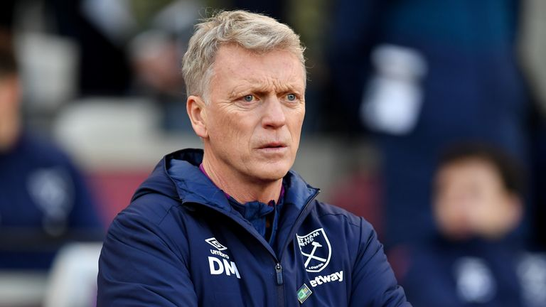 West Ham manager David Moyes is not seeking players surplus to requirements