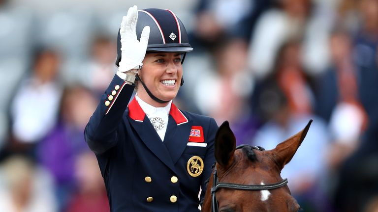 Charlotte Dujardin has won three gold medals and one silver medal for Team GB in two editions of the Olympic Games