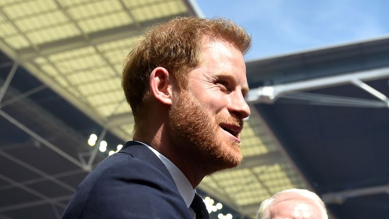 The Duke of Sussex is hosting the Rugby League World Cup draw at Buckingham Palace
