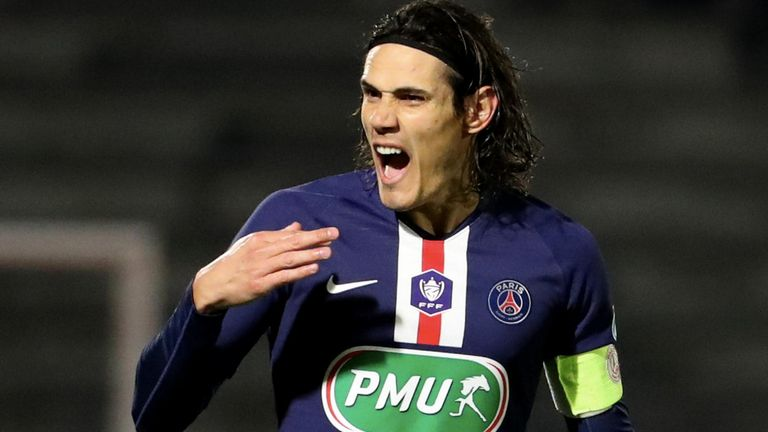PSG have failed to win the Champions League despite the goals of Edinson Cavani