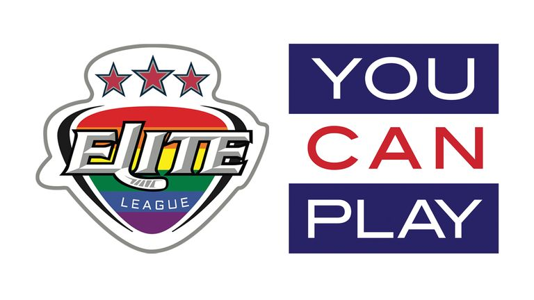 The Elite League teamed up with You Can Play for British ice hockey's first-ever Pride Weekend in January 2020