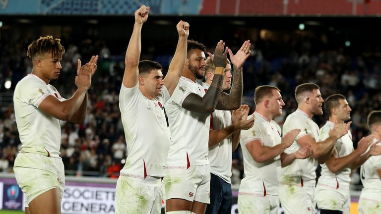 England progressed to last year's World Cup final courtesy of an impressive victory over the All Blacks in the semi-finals