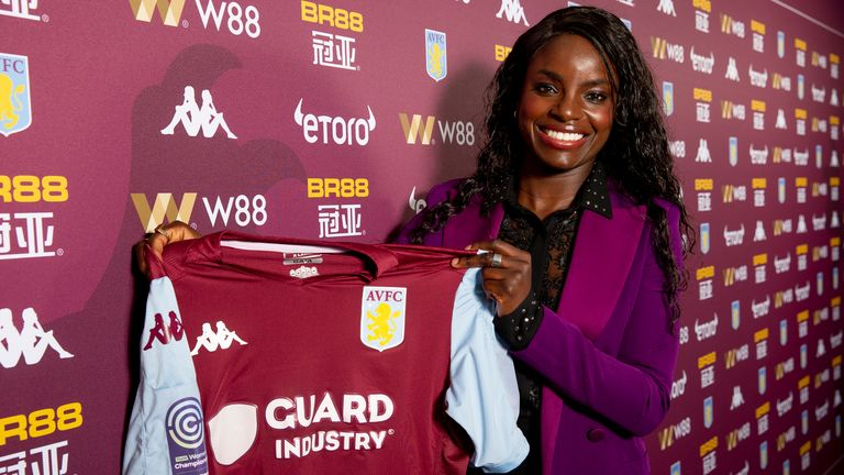 Eni Aluko - Aston Villa Women's sporting director