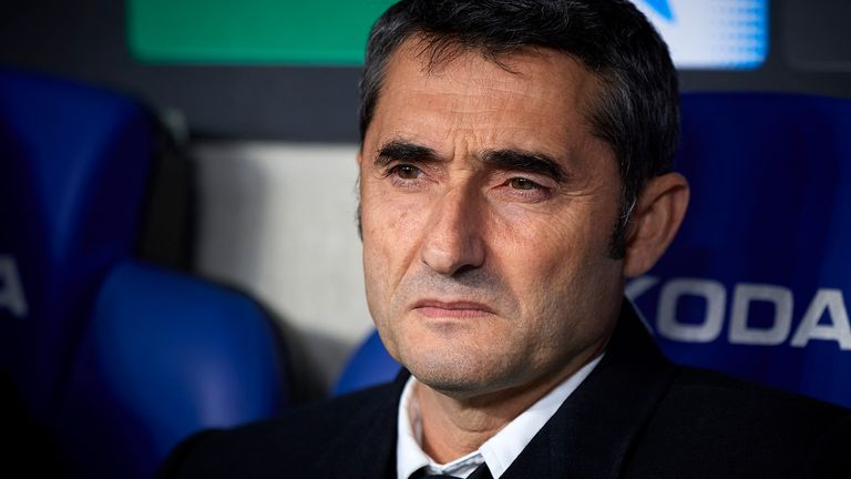 Confidence in Valverde depleted after the defeat to Atletico Madrid