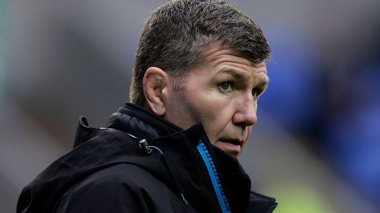 Exeter Chiefs head coach Rob Baxter