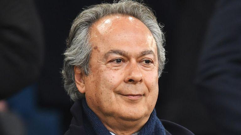 Farhad Moshiri is Everton's majority shareholder and a friend of Usmanov