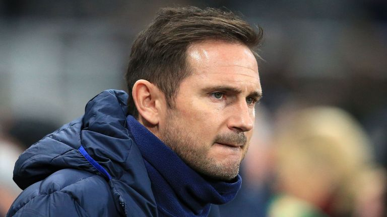 Frank Lampard was left frustrated by Chelsea's defeat at Newcastle