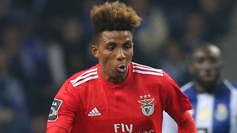 West Ham are the latest club linked with Benfica's Gedson Fernandes