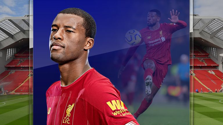 Liverpool's Gini Wijnaldum