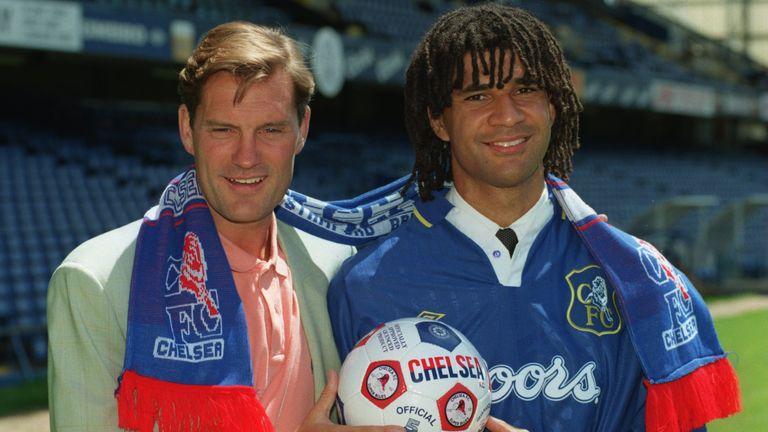 Glenn Hoddle brought Ruud Gullit to Chelsea in 1995