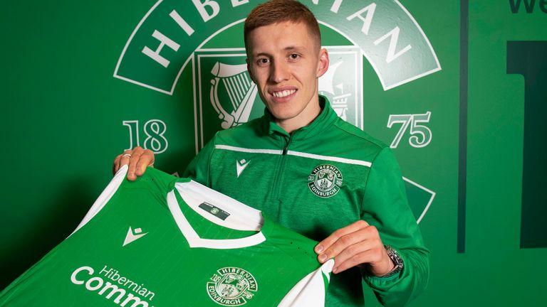Greg Docherty has joined Hibernian on loan from Rangers