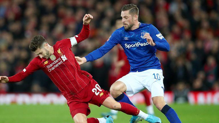 Gylfi Sigurdsson struggled to keep up with Liverpool's second-half intensity