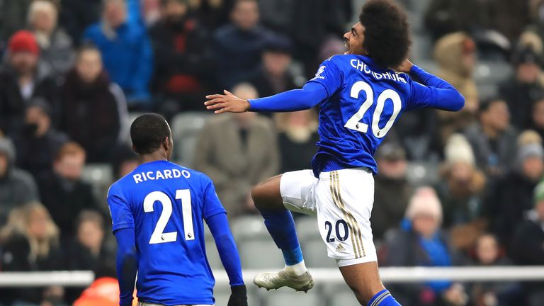 Choudhury scored his first ever Premier League goal on New Year's Day in a 3-0 win at Newcastle