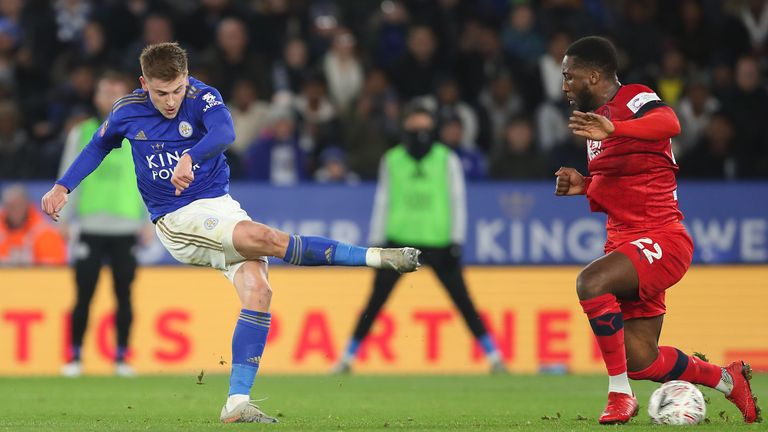 Harvey Barnes scores as Leicester breezed past Wigan into round four