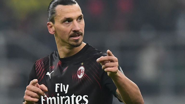 Ibrahimovic is into his second spell at AC Milan
