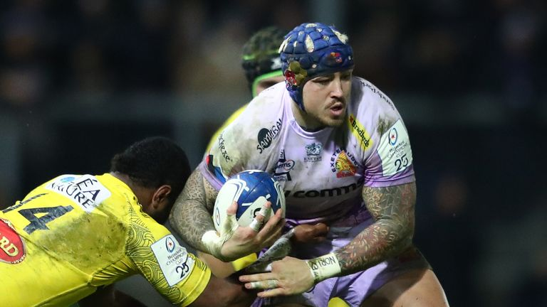 Jack Nowell is one of 30 players to agree new deals with Exeter Chiefs