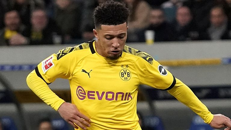 Jadon Sancho looks set to stay at Borussia Dortmund in January