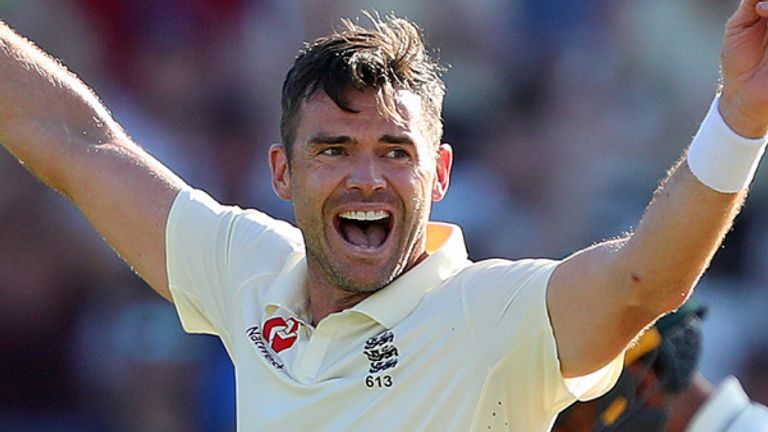 Anderson has taken 584 Test wickets in 151 Tests