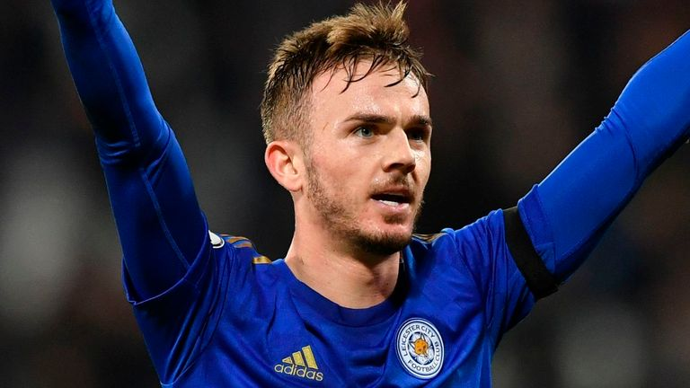 James Maddison is a reported target for Manchester United in the January transfer window