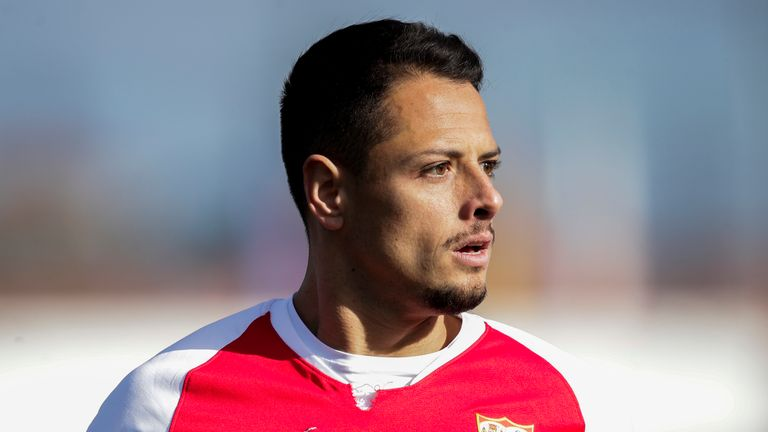 Javier Hernandez has only scored one La Liga goal for Sevilla