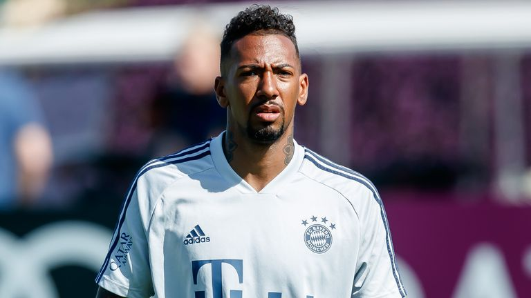 Jerome Boateng is rumoured to be leaving Bayern Munich this summer