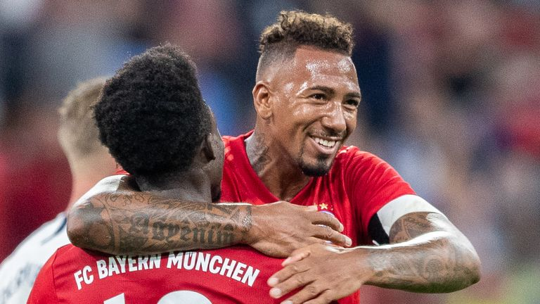 Tottenham Hotspur reportedly battling Arsenal for Jerome Boateng