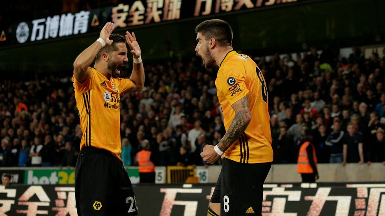 Moutinho's partnership with Ruben Neves is vital for Wolves