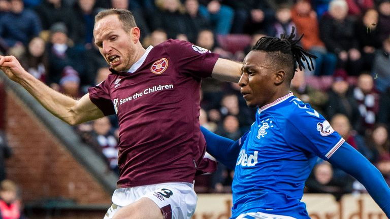 Joe Aribo stabbed wide in the early stages
