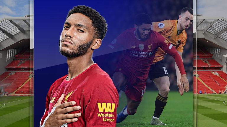Joe Gomez impressed for Liverpool in their 2-1 win over Wolves