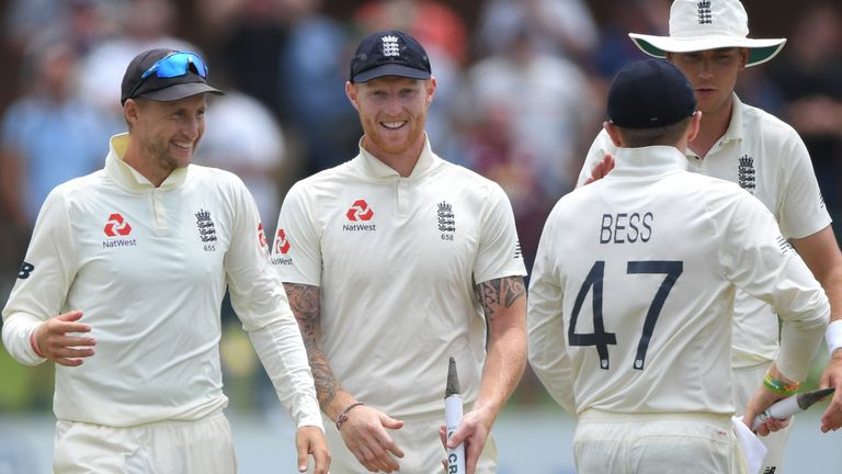 Joe Root and Ben Stokes, England, Test vs South Africa at Port Elizabeth
