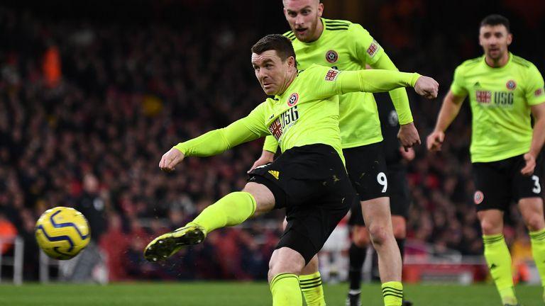 John Fleck scores Sheffield United's equalising goal