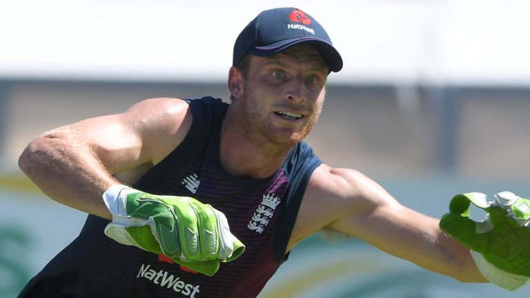 Jos Buttler has apologised for swearing in Cape Town during England's win over South Africa