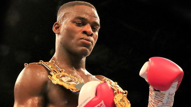 Buatsi is working towards a world title fight