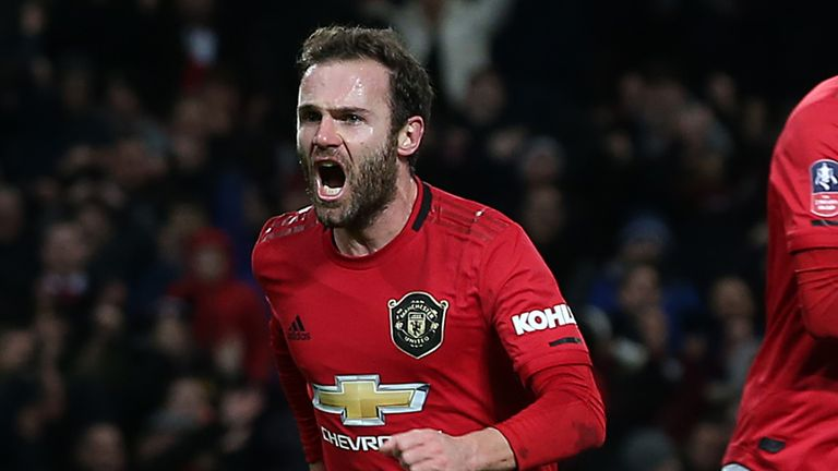 Mata was the standout performer for the hosts and expertly took his goal