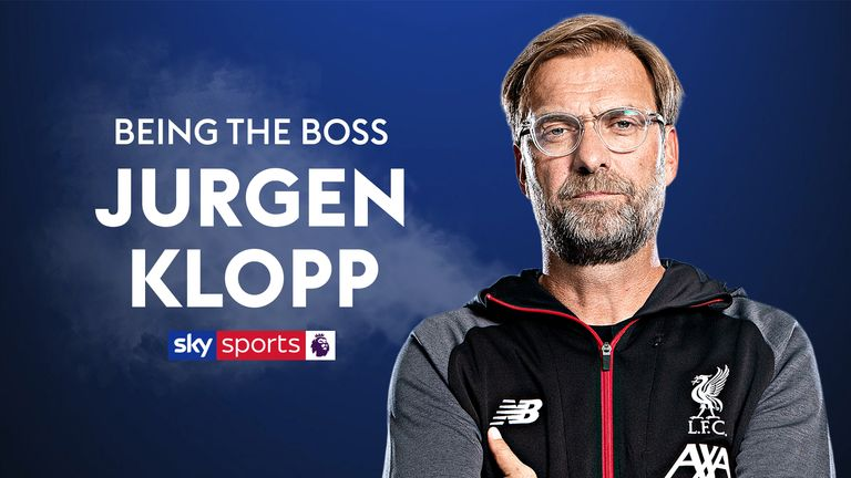 Klopp Being the boss