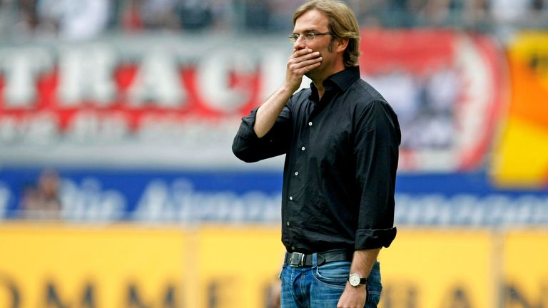 """When I came to Dortmund, in the first few weeks I wore jeans I think, and a black shirt or something like that, and then I just forgot it"""