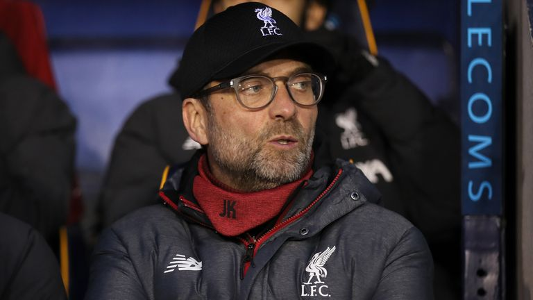 Jurgen Klopp has refusal to play his first team in the replay due to winter break commitments
