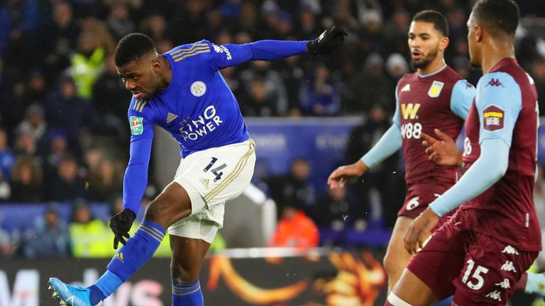 Leicester will need a response after their Carabao Cup semi-final first leg against Aston Villa