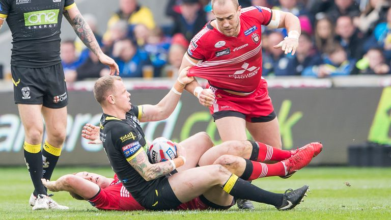 Kevin Brown will be pulling on a Salford shirt in 2020