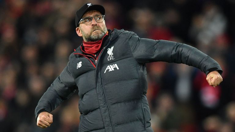 Jurgen Klopp is not getting carried away despite his side's record-breaking run