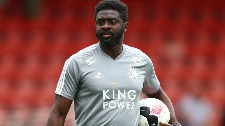 Former Arsenal legend Kolo Toure is helping Caglar Soyuncu at Leicester