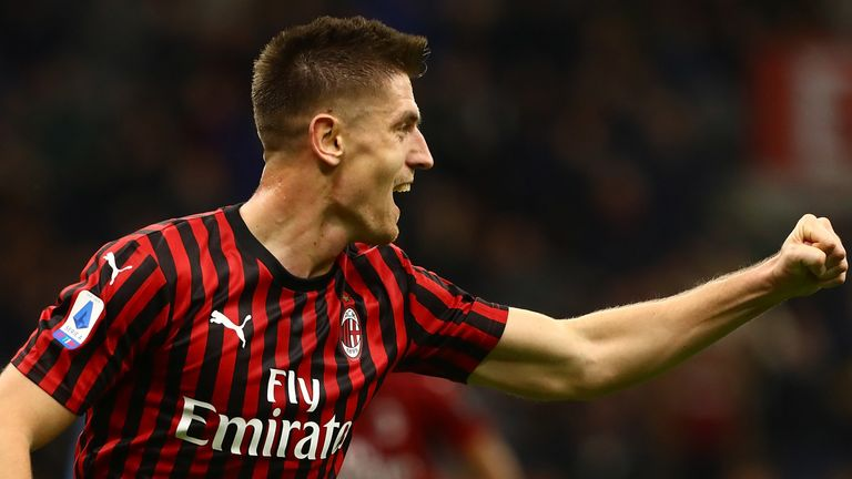 Krzysztof Piatek is another potential loan option for Spurs this month