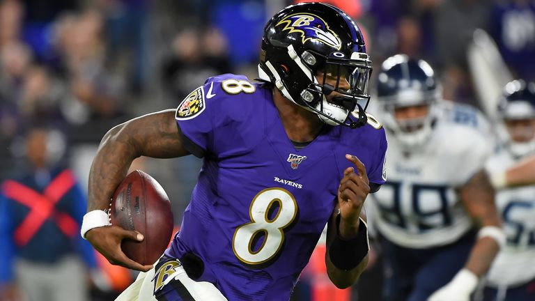 Lamar Jackson had been strongly tipped to reach his first Super Bowl this season