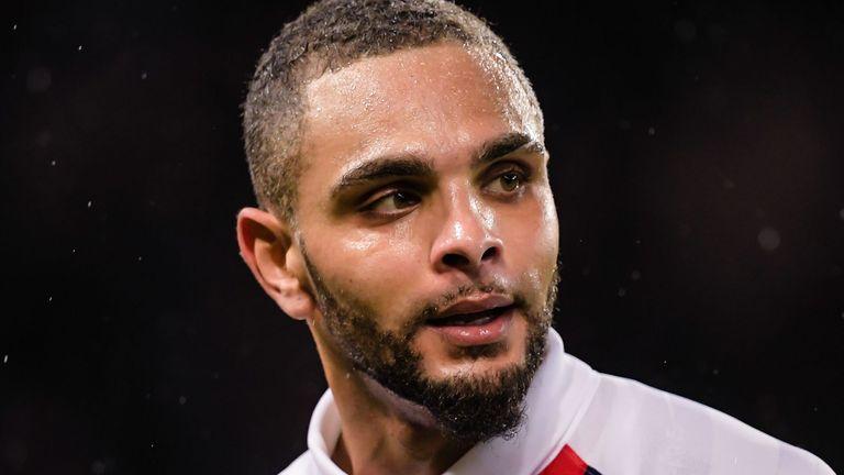 PSG defender Layvin Kurzawa
